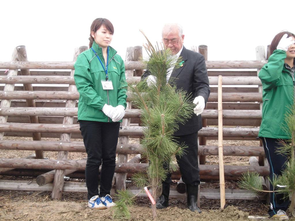 東北復興・海岸林再生記念植樹祭(その3)