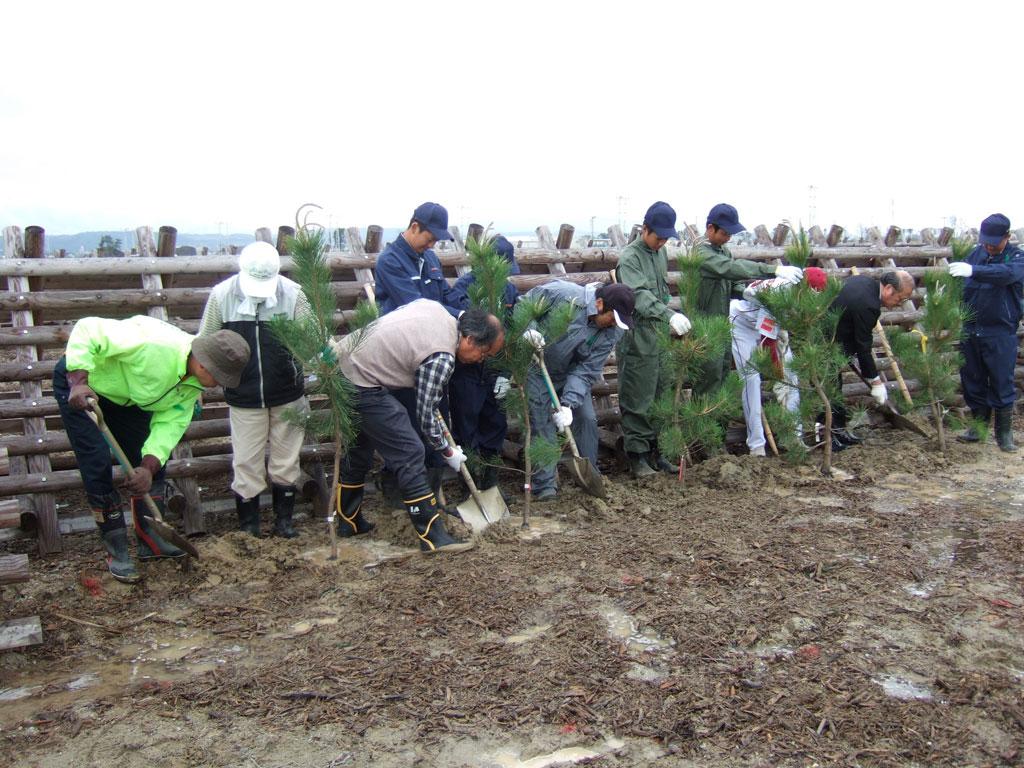 東北復興・海岸林再生記念植樹祭(その4)